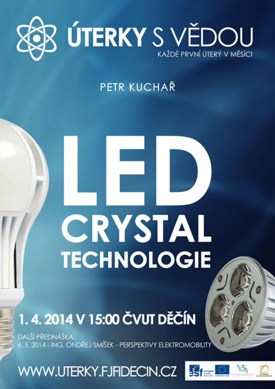 LED crystal technologie na ČVUT